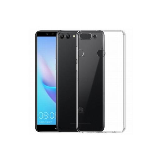 Funda Silicona Huawei Y9 2018 Trasnparente - Foto 1
