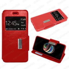 Funda Libro Xiaomi Redmi 5 Roja