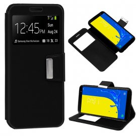 Funda Libro Samsung J600 Galaxy J6 Negra