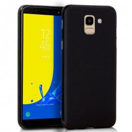 Funda Silicona Samsung J600 Galaxy J6 Negra
