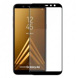 Protector Cristal Templado Samsung A600 Galay A6 3d Negro