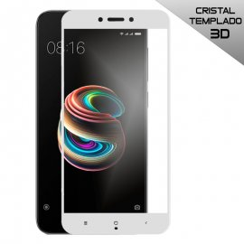 Protector Cristal Templado Xiaomi Redmi 5a 3d Blanco