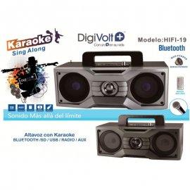Altavoz Digivolt Md Hifi 19 con Karaoke