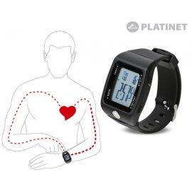 Reloj Sport Pulsometro Digital Tactil Phr107 Platinet