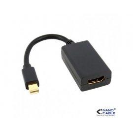 Conversor Mini Hdmi Negro 15cm Nano Cable