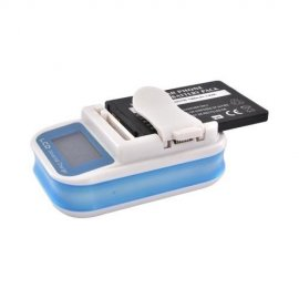 Cargador Universal de Baterias Externas Movatel Lcd Ca10wn13d