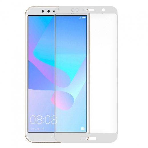 Protector Cristal Templado Huawei Y6 2018 Hornor 7a 3d Blanco - Foto 1