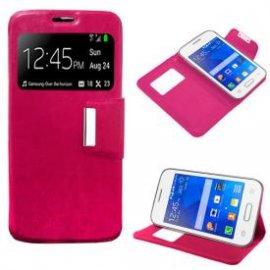 Funda Libro Samsung Galaxy A3 Rosa
