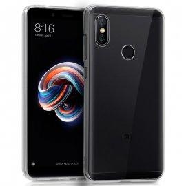 Funda Silicona Xiaomi Redmi Note 5 Transparente
