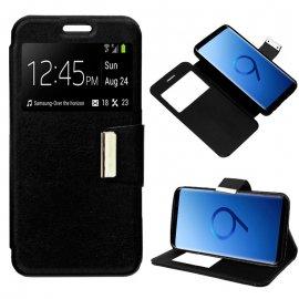 Funda Libro Samsung S9 Negra