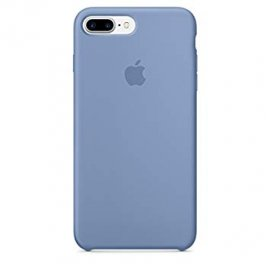 Funda Silicona Rigida Iphone 7 Plus Azul Cielo