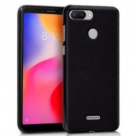 Funda Silicona Xiaomi Redmi 6/ 6a Negra