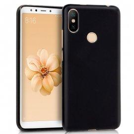 Funda Silicona Xiaomi Mi A2 Negra / Mi 6x