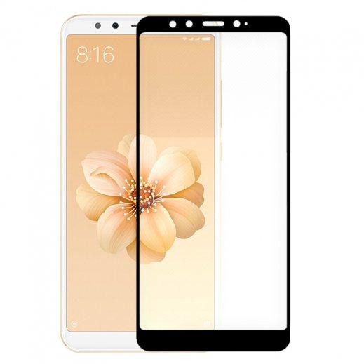 Protector Cristal Templado Xiaomi Mi A2 / Mi 6x Negro - Foto 1