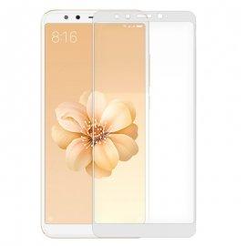 Protector Cristal Templado Xiaomi Mi A2 / Mi 6x Blanco