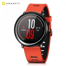 Xiaomi Smartwatch Inteligente Amazfit Pace Rojo