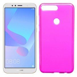 Funda Silicona Huawei Honor 7a Rosa