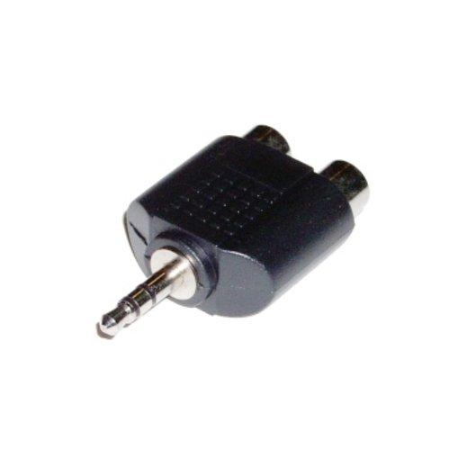 Adaptador Audio 3.5 St 2rca-h Dh - Foto 1