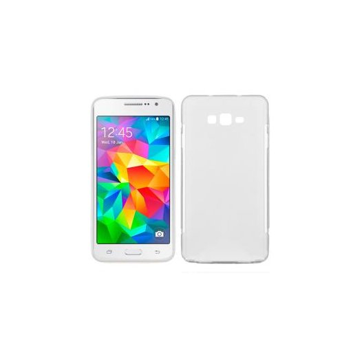 Funda Silicona Samsung Galaxy Grand Prime Transparente - Foto 1