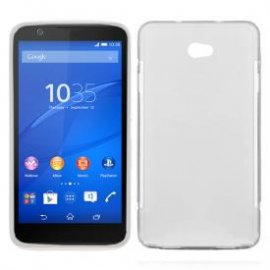 Funda Silicona Sony Xperia E4 Transparente