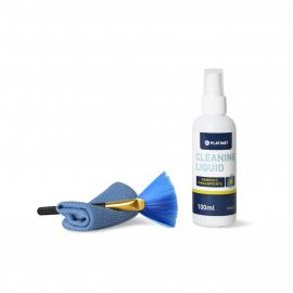 Kit de Limpieza Pantallas Lcd y Tactiles 100ml +paño Microfibra