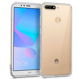 Funda Silicona 3d Huawei Y6 2018 Honor 7a Trasparente