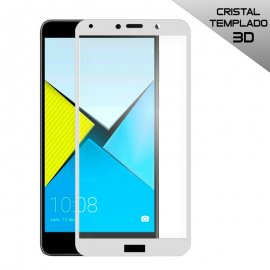 Protector Cristal Templado Huawei Honor 6x 3d Blanco
