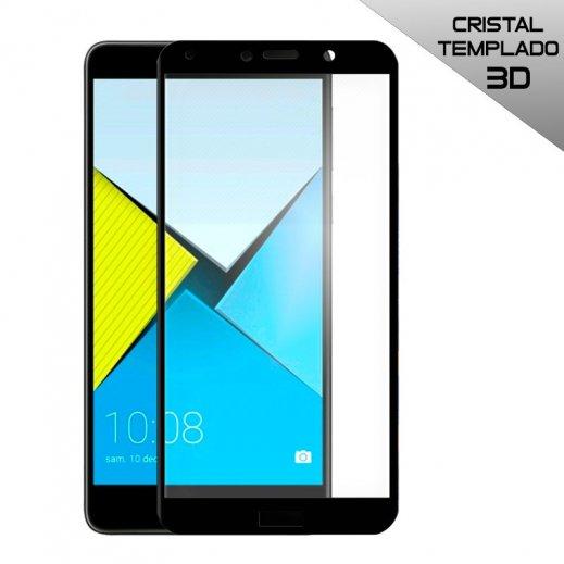 Protector Cristal Templado Huawei Honor 6x 3d Negro - Foto 1