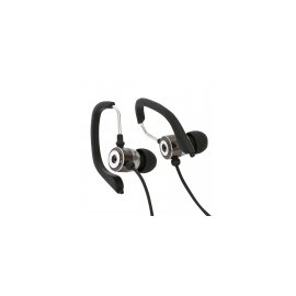 Auriculares Sport + Microfono Freestyle Omega Negro