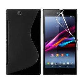 Funda Silicona Sony Xperia Z Ultra Negra