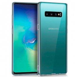 Funda Silicona Samsung S10 Plus Transparente
