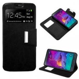 Funda Libro Samsung Galaxy Note 4 Negro
