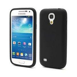 Funda Silicona Samsung Galaxy S4 Mini Negra
