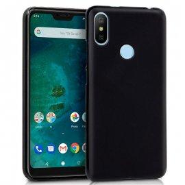 Funda Silicona Xiaomi Mi A2 Lite Negra