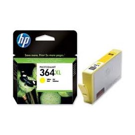 Cartucho Original Hp Inyeccion Tinta Amarillo 364xl
