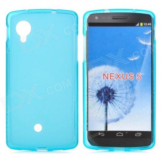 Funda Silicona Lg Nexus 5 Azul - Foto 1