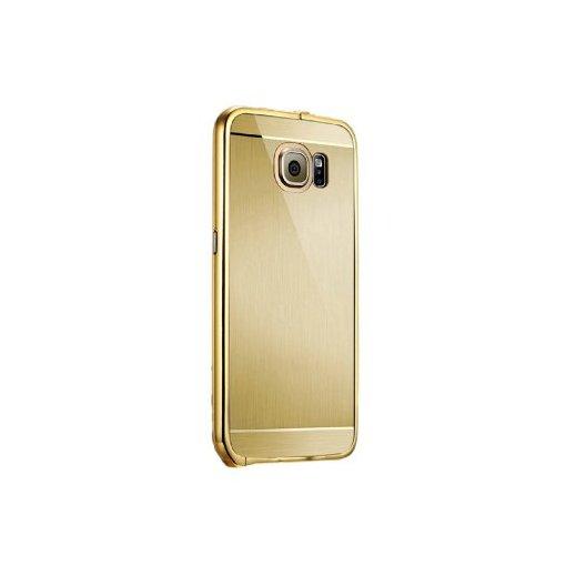 Funda Silicona Samsung Galaxy S6 Dorado - Foto 1