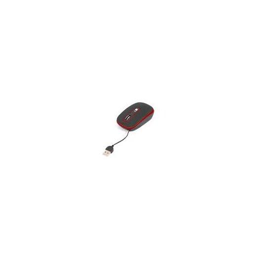 Raton Cable Retractil 800dpi Om0262r Omega - Foto 1