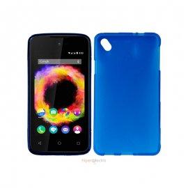 Funda Silicona Wiko Sunset 2 Azul