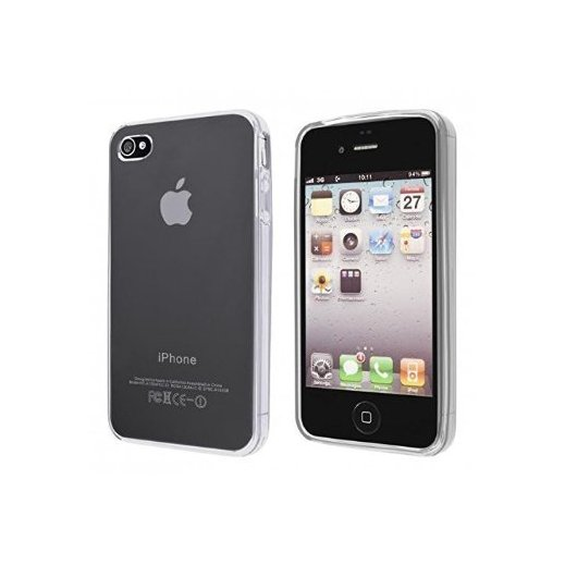 e5c2f50ab8e Funda Silicona Iphone 4/4g/4s Transparente. Comprar ofertas y ...