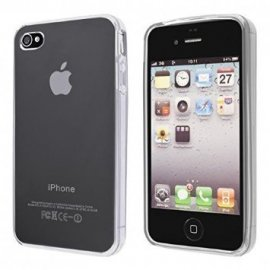 Funda Silicona Iphone 4/4g/4s Transparente