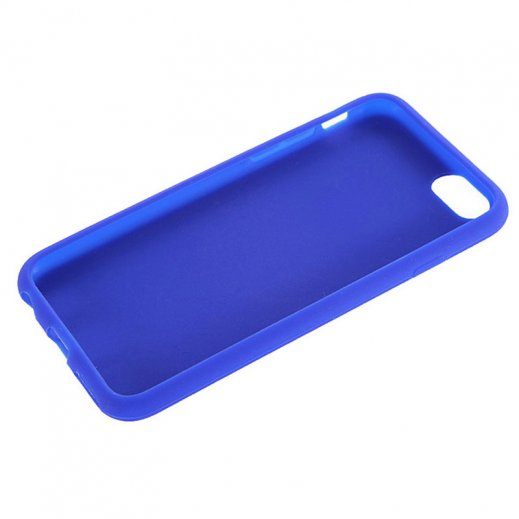 Funda Silicona Iphone 6g 4.7 Azul - Foto 1