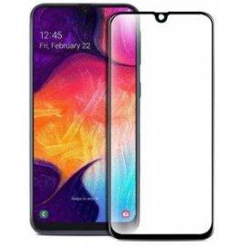 Protector Cristal Templado Samsung A70 Negro