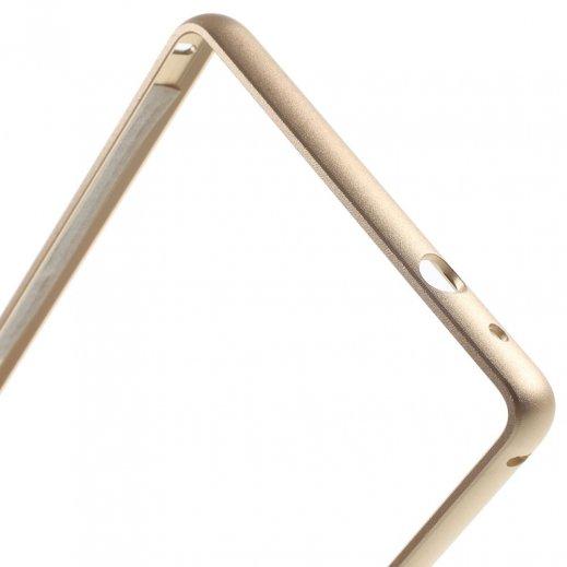 Funda Bumper Metalica Iphone 6g 5.5 Dorada - Foto 1