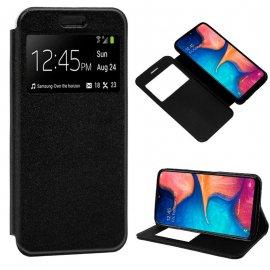 Funda Libro Samsung A20 A30 A50 Negra