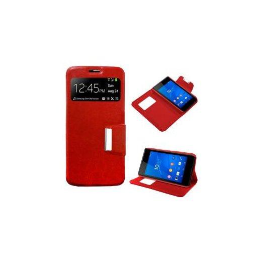 Funda Libro Sony Xperia Z4 Roja - Foto 1
