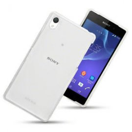 Funda Silicona Sony Xperia Z4 Transparente
