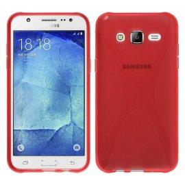Funda Silicona Samsung Galaxy J5 Roja