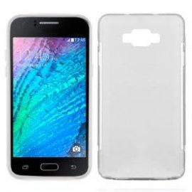 Funda Silicona Samsung Galaxy J1 Transparente