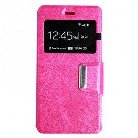 Funda Libro Huawei P8 Lite Rosa